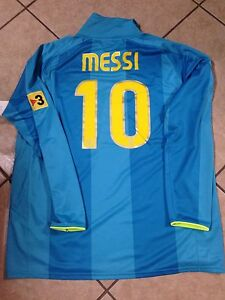 low priced 993f6 84b4d Details about Barcelona Spain Messi Jersey Argentina Football Shirt Nike  Soccer
