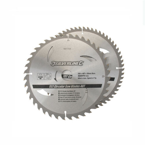 HM Sägeblatt Kreissägeblatt 250 mm Z40 60 für DEWALT DW 743 717 745 DWS 778