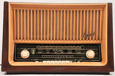 Vintage OPUS 7 HiFi AM FM SW TUBE Radio Telefunkin SUPERHETERODYNE - Shortwave