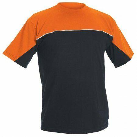schwarz//orange EMERTON T-Shirt Arbeitskleidung