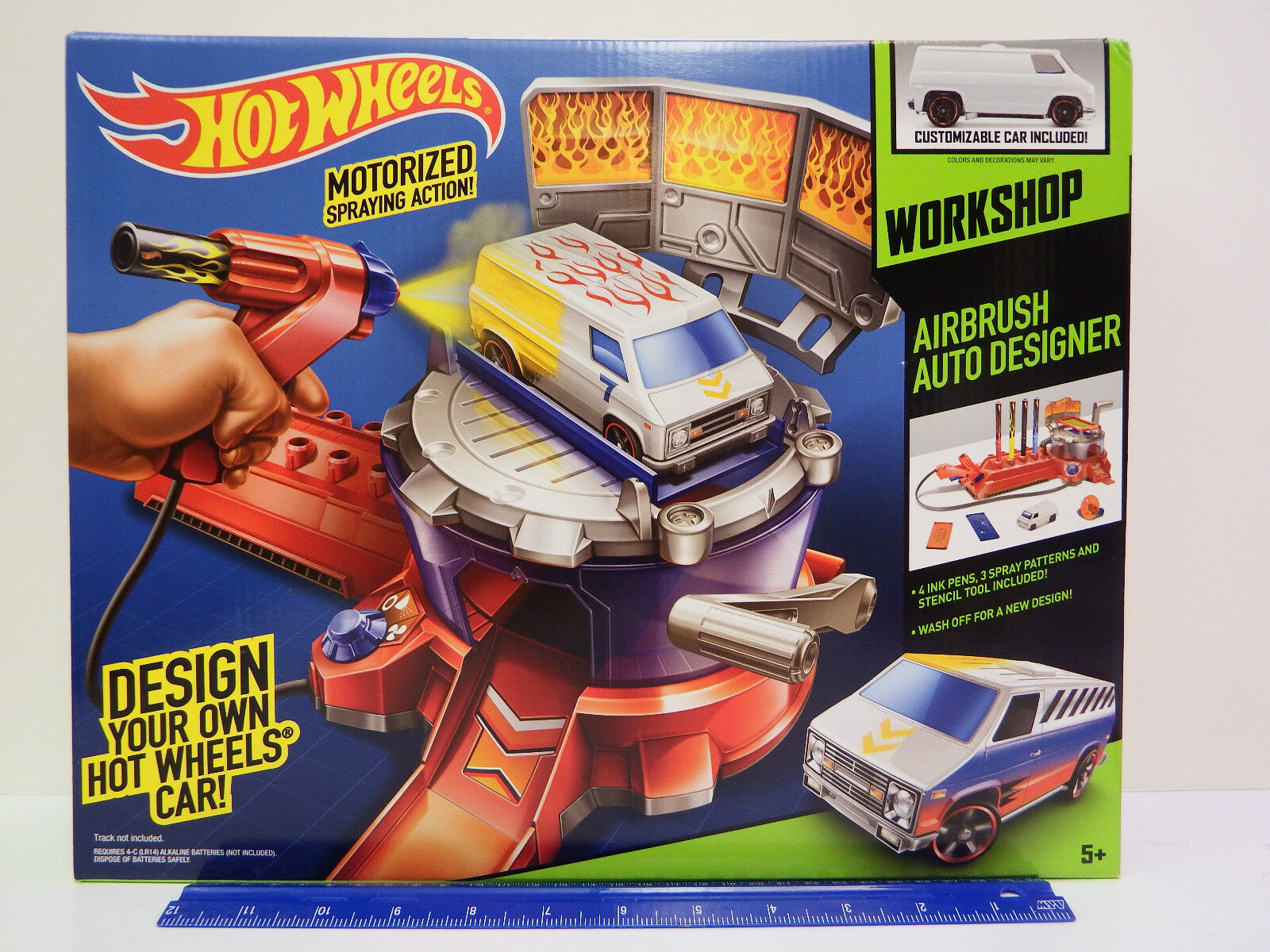 Hot Wheels Car Car Car Design Workshop - Airbrush Auto Designer -  Ages 5 & up c0ae41