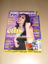 ROCK SOUND N°141 Décembre 2005 Eths Korn Blink-182 Enhancer Lofofora Stupflip