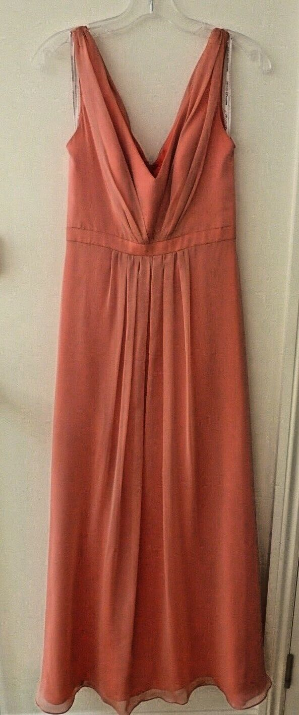 Bridesmaid dress - Hayley Paige size 8 Coral