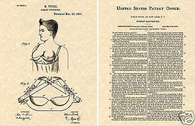 Tucek Bh Us Patent Kunstdruck Fertig Zu Rahmen 1893 Brust Klassisch Phelps Gut Verkaufen Auf Der Ganzen Welt