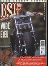 BSH THE EUROPEAN CUSTOM BIKE MAGAZINE - August 1999