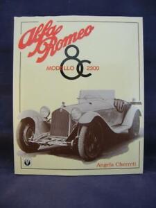 Alfa Romeo Modello 8c 2300 - Angela Cherrett - Veloce 014 - Hardcover