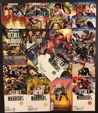 SECRET WARRIORS #1-28+ Comic Books COMPLETE Nick Fury SHIELD Marvel 2009 Bendis