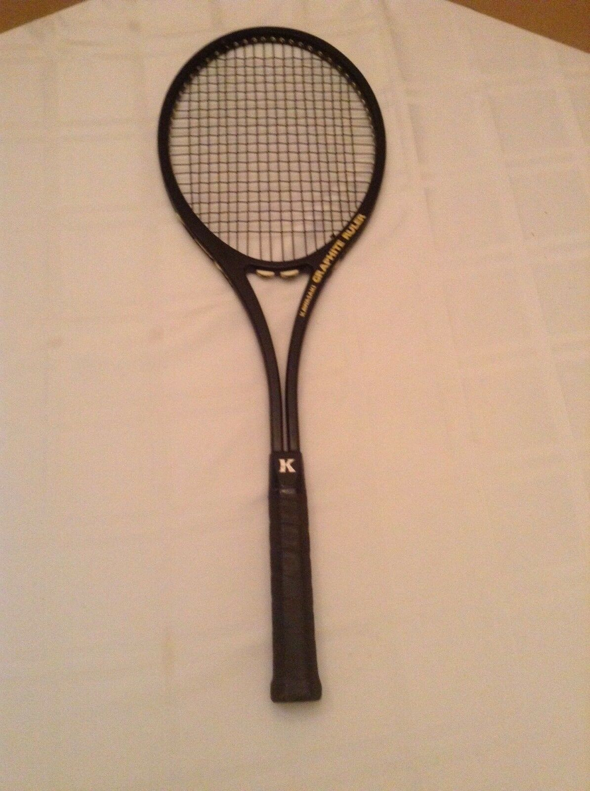 Kawasaki Graphite Ruler No. KCP-76  vintage  Tennis Raquet