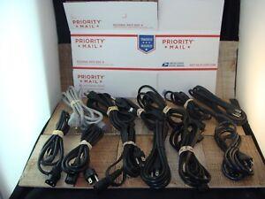 3-pronged power cord with DEREN DR-301 DEKON DK-390 POWER CORD IEC 320 C13 UK 13