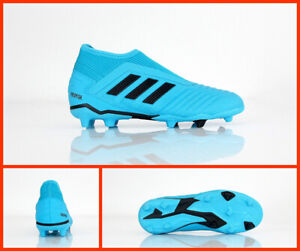 running shoes save up to 80% latest fashion Details about Adidas Football Shoes Baby Predator 19.3 Ll Fg J EF9039  Cyan/Black August 2019