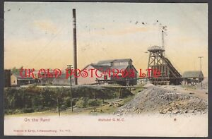 South Africa - JOHANNESBURG,  Wolhuter Gold Mine,  On the Rand, 1905