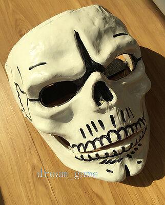 FRP Skull Skeleton Full Face Mask Cosplay Cos Props For James Bond 007 Spectre