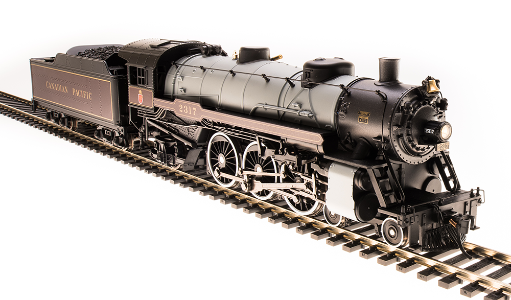 Broadway Limited 5606 Luz Pacific 4-6-2, CP 2318, Granate & Gris