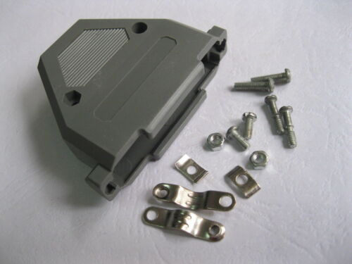 Capucha D-Sub de 20 Piezas Cubierta para conector D-Sub de 37 Pines Plástico Nuevo