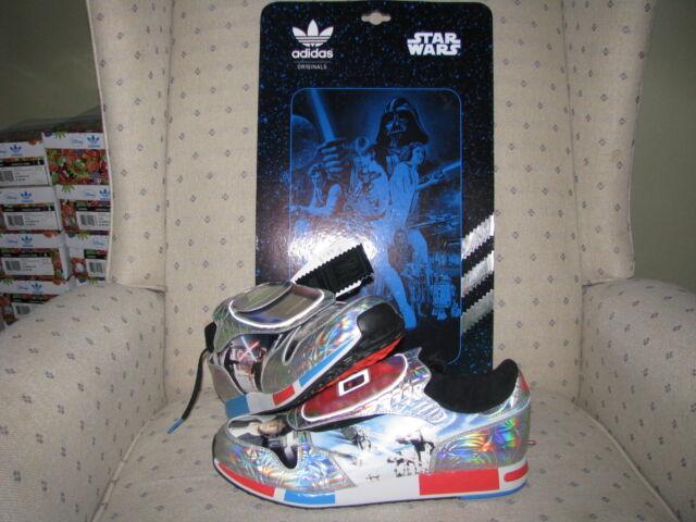 ADIDAS ORIGINALS STAR WARS MICROPACER Famous Scene Han Solo Dart Vader Skywalker