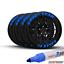 TOYO Waterproof Permanent Paint Marker Pen Car Tyre Tire Letters Rubber Metal