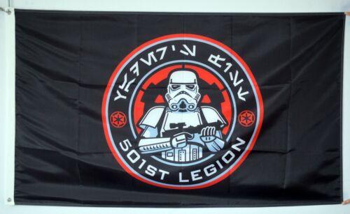 501st Legion Star Wars Vader's Fist Flag US Shipper