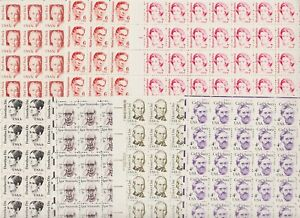U.S. 7 Definitive sheets, FACE value is $ 28.00