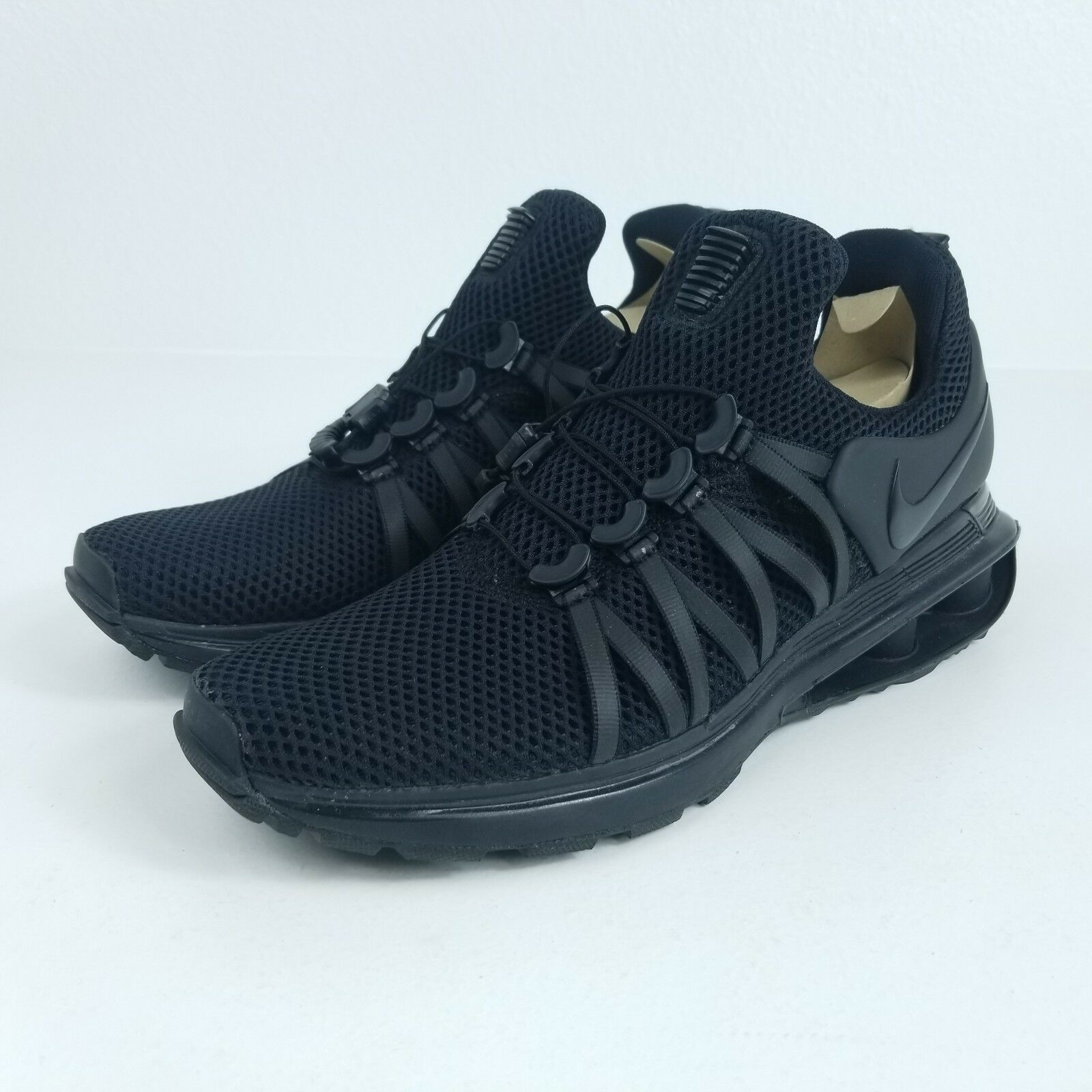 Nike shox gravità Uomo sz 9 scarpe nere ar1999 001