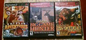 PS2-Cabela-039-s-Dangerous-Hunts-Outdoor-Adventure-Big-Game-Hunter-Tested-CIB