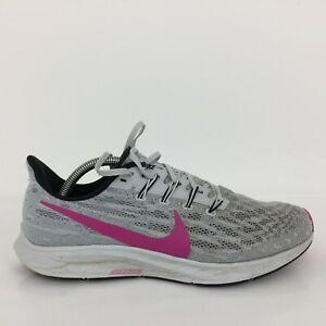 Nike Air Zoom Pegasus 36 Gris Textile Basket Sneaker AQ2203-607 Hommes UK 9 EUR 44