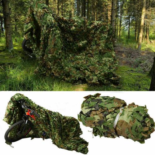 3x2m Oxford Tissu Filet de Camouflage Camo Filet Chasse Tir Hide K8J0W armée