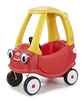 Little Tikes Plastic Toy Car Cozy Coupe Push Ride On Sit