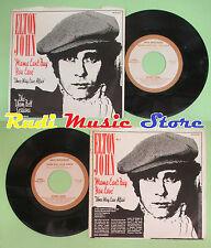 LP 45 7'' ELTON JOHN Mama can't buy you love Three way love affair no cd mc dvd