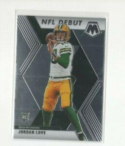 2020 Mosaic NFL Debut Jordan Love Rookie Card #264 Packers New QB?? RC!!