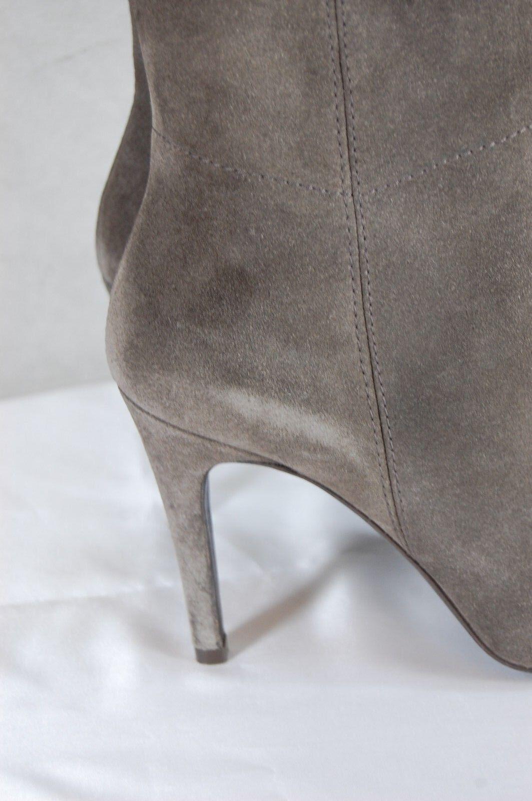 Pedro Garcia Garcia Garcia 'Sarina' Sin Puntera gris Gamuza botas Hasta La Rodilla Para Mujer EU 37.5 nos 7.5 6c1526
