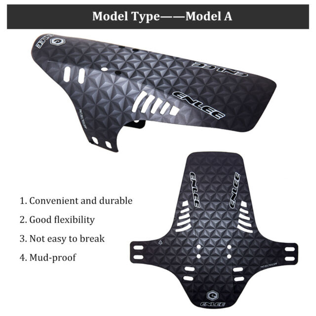 Road MTB DH Bike Fender 280*265mm Front Rear Mud Flaps Bicycle Accessories 1 PC