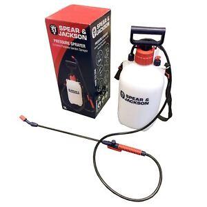Spear-And-Jackson-Pump-Sprayer-Garden-Action-Pressure-Plant-Spray-Bottle-5-L