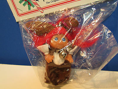"NEW IN BAG 3/"" Dam Norfin Rare LAST ONES CHRISTMAS REINDEER ORNAMENT"