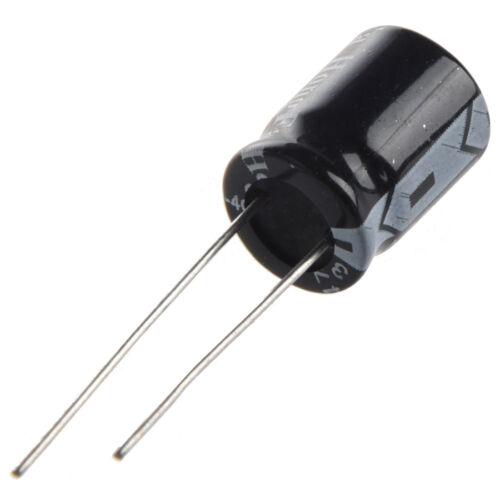 50 pcs 470uF 35V AlumInum Electrolytic Capacitors 10x13mm JI A8A6