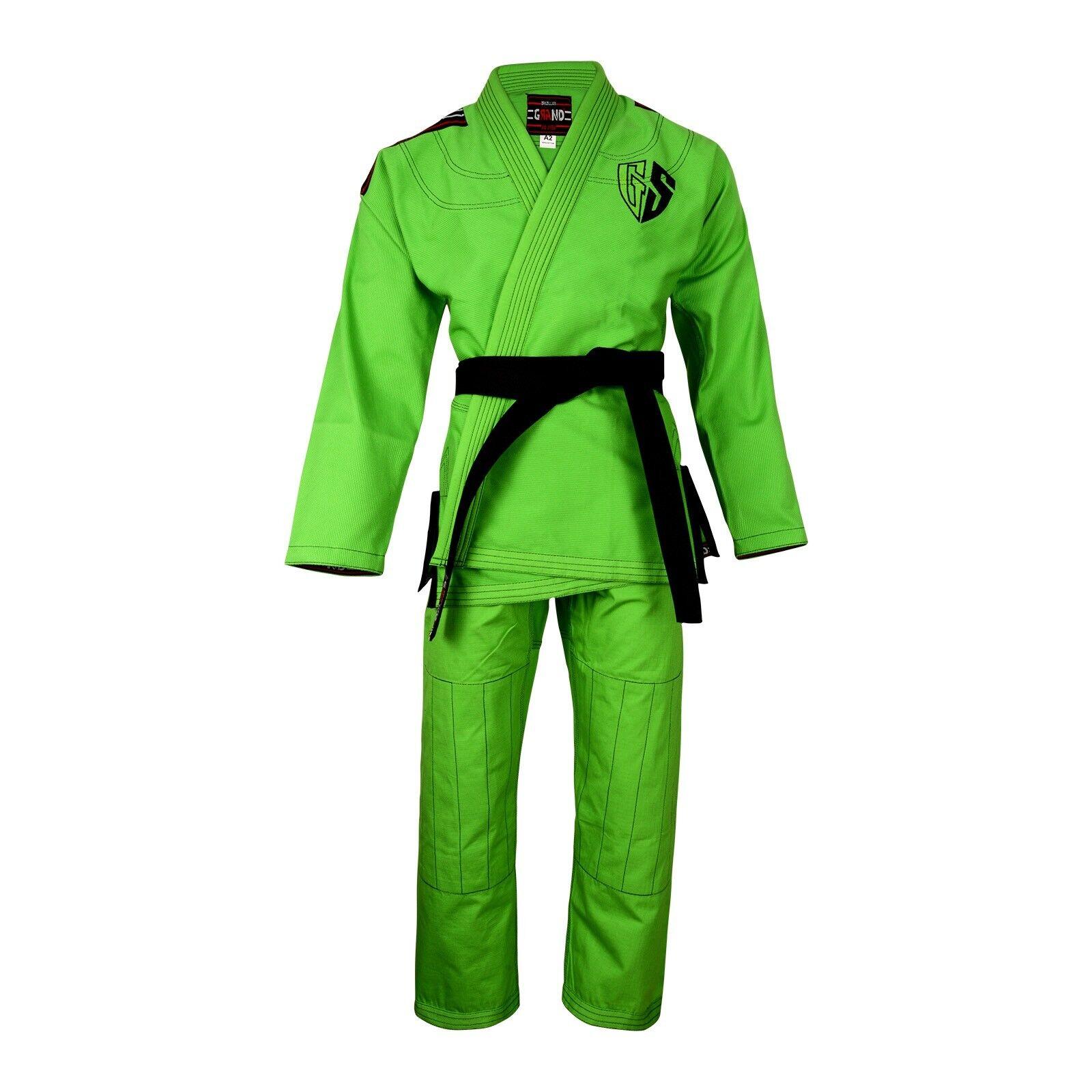 GranD MMA Grappling Jiu Jitsu Gi Brazilian BJJ Kimono Uniform Martial Arts Gi