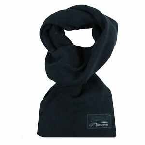 SUPERDRY-ORANGE-LABEL-NAVY-GRIT-SCARF