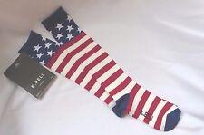 AMERICAN FLAG KNEE HIGH SOCKS, Americana Patriotic, K Bell 9-11