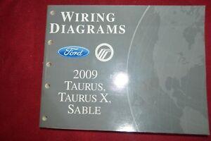 2009 Ford Taurus Mercury Sable Dealer Wiring Diagram ...