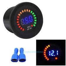 DC 12V Car Motorcycle Digital LED Panel Voltage Volt Meter Display Voltmeter New
