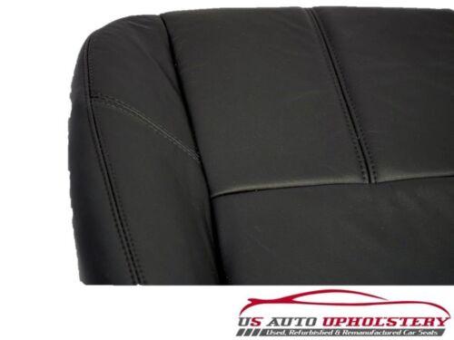 2007-2014 CHEVY TAHOE SUBURBAN VINYL DRIVER SIDE BOTTOM SEAT COVER EBONY BLACK