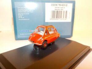 Model-Car-Heinkel-Trojan-Red-1-76-New