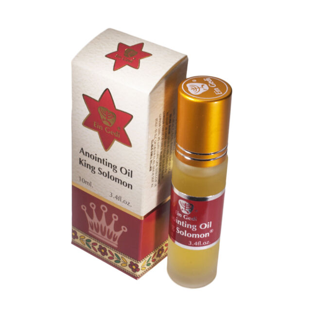 Roll On Anointing Oil King Solomon 0.34oz From Holyland