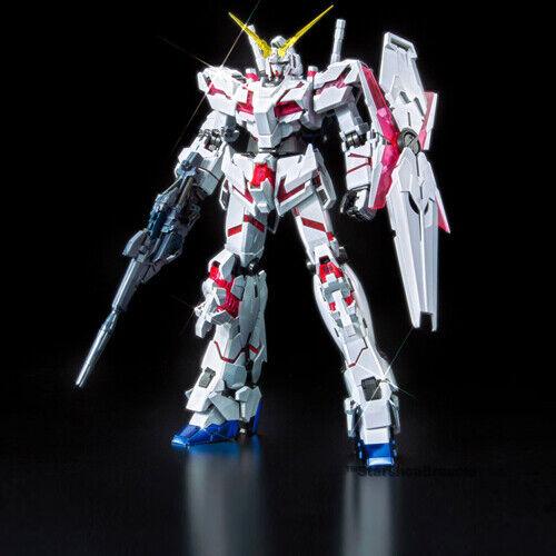 Gundam - 1 100 rx-0 red green unicorn twin structure titanium finish master grade