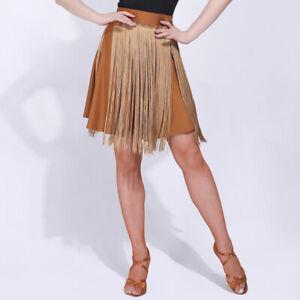 NEW Latin Ballroom Dance Dress Modern Salsa Waltz Standard Dress#F279 4 Colors
