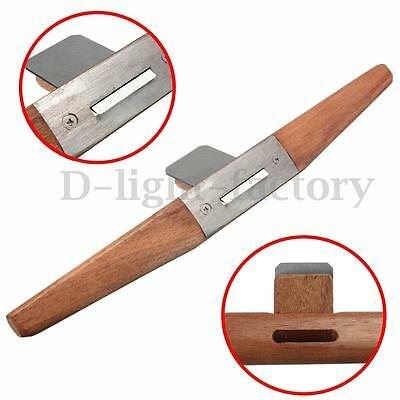 3cm Flat Bottom Edged Spokeshave #J Handle Tools For Woodworking Slotted Plane