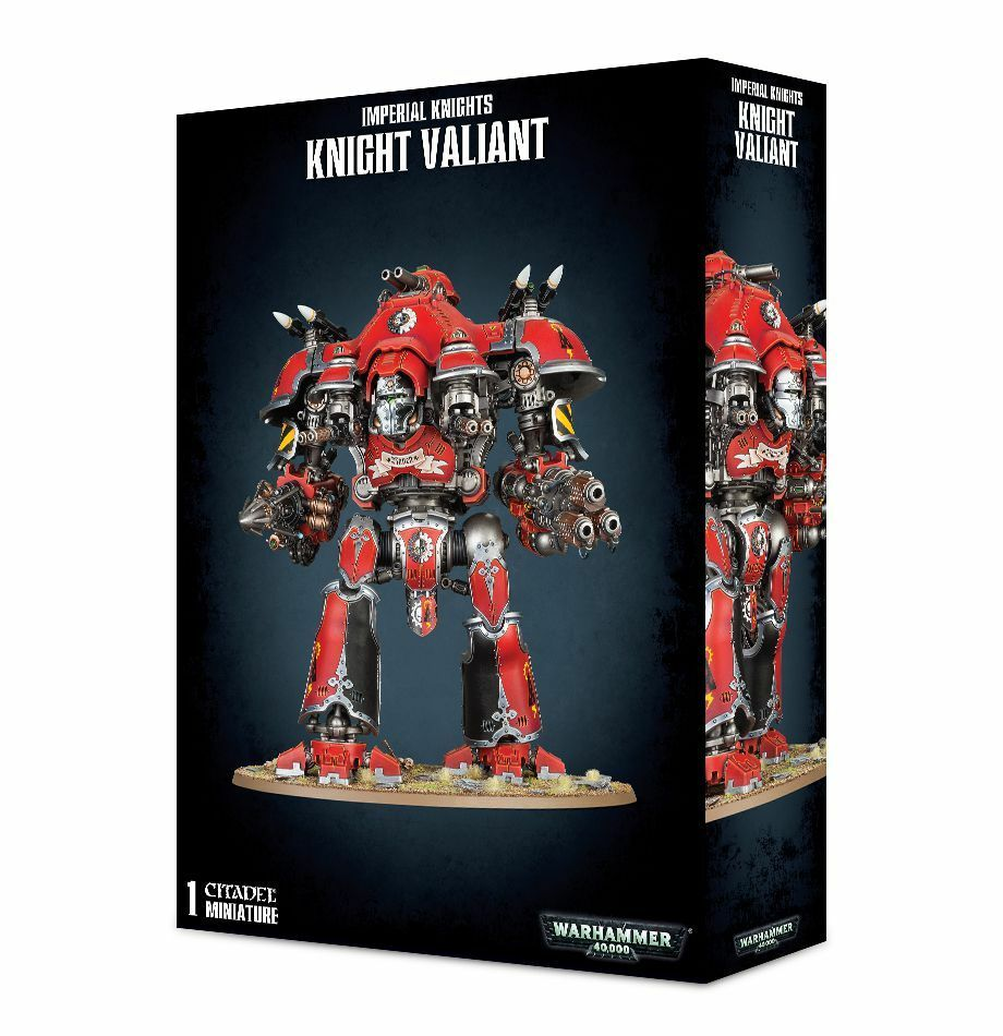 Imperial Cavalieri Valiant Games Workshop 40k Kinghts Imperial Cavaliere Dominus