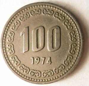 1974-Sudafrica-Korea-100-Won-Excelente-Coleccion-Bin-94