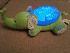 Details About Summer Infant Slumber Buds Elephant Night Light Baby Nursery Projector Green