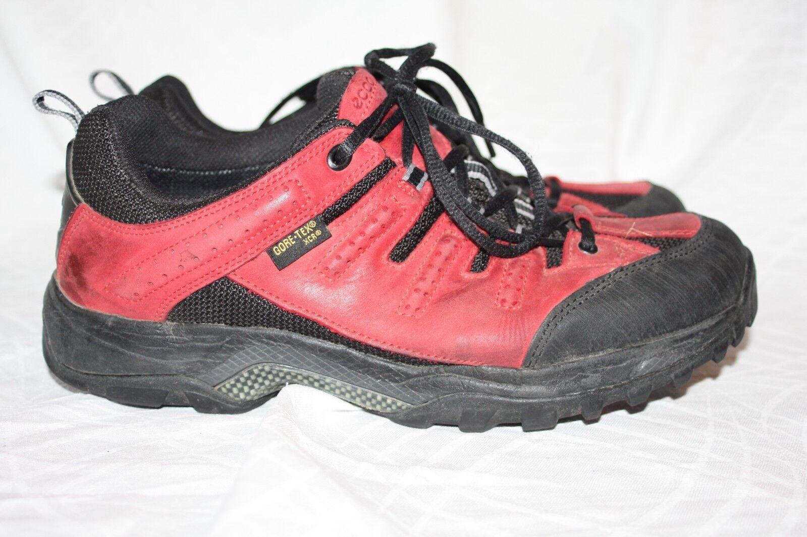 Ecco gore tex Trekking outdoor Schuhe 41 XCR Receptor  ROT Wanderstiefel Stiefel