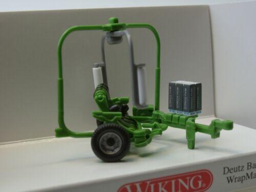 Wiking Deutz Ballenwickler WrapMaster 1851-0384 39-1:87